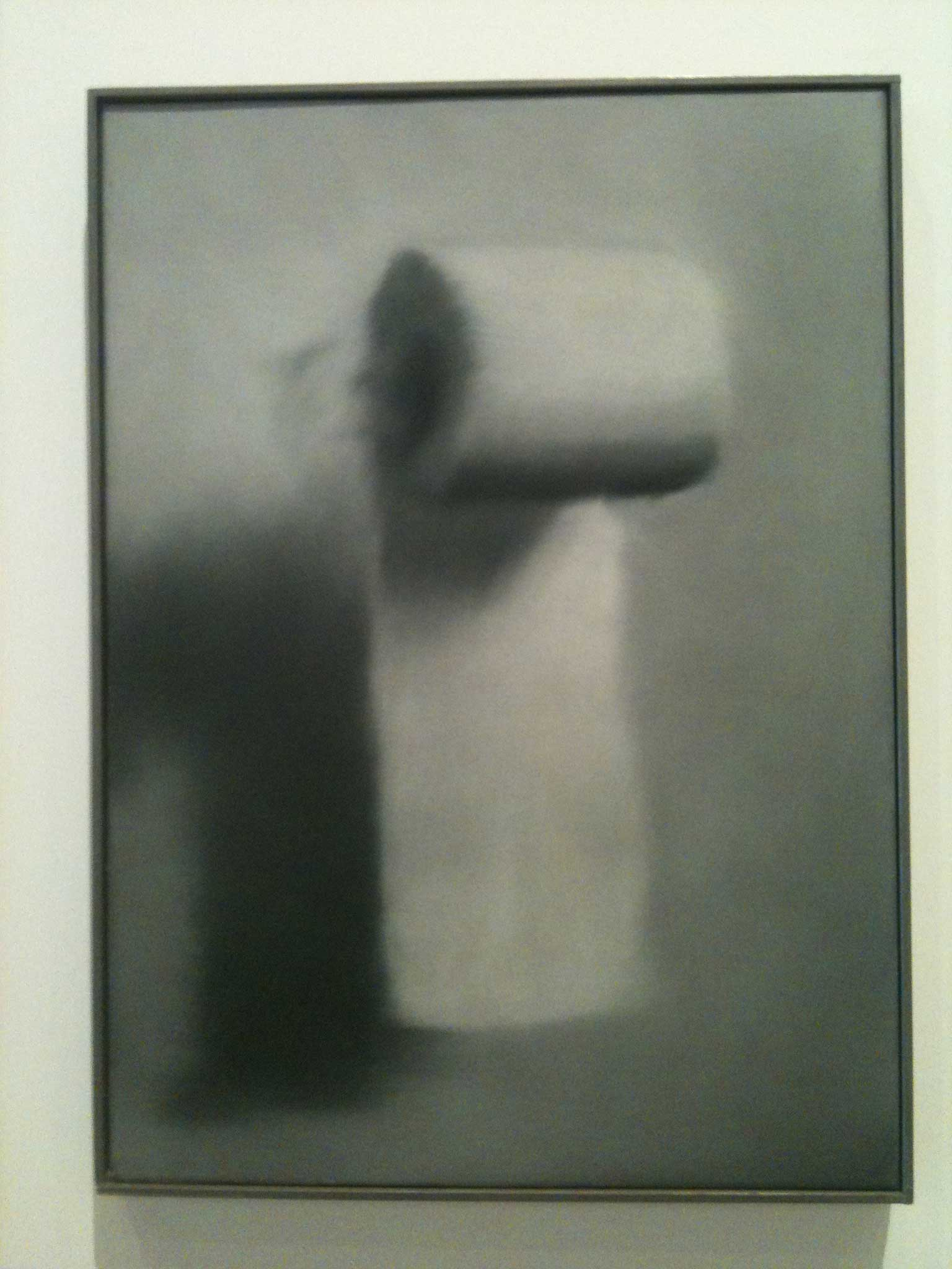 "Gerhard Richter ""Klorolle"", Öl auf Leinwand"
