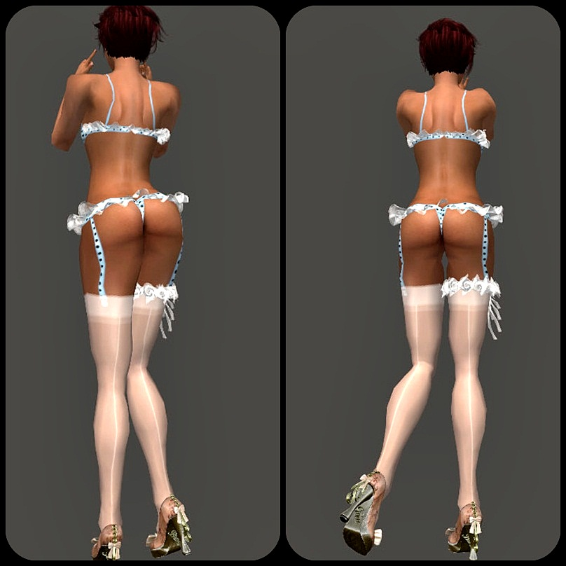 4 dessous sims CHVLR COLLECTIONS