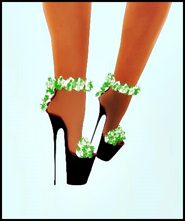 [-L3S-]-GLADYS-SHOES-FLOWER