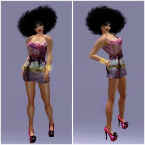 ALB FARAH dress & KEELA heels GIFT