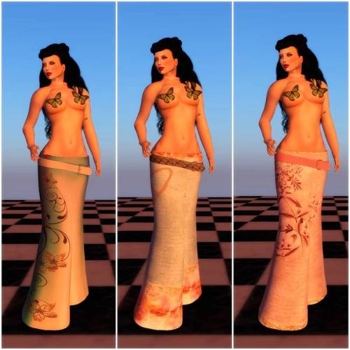 SLAVE- Nori Gypsy Skirt & Belt1
