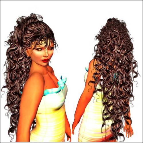 FD A&A Angela Hair Chocolate-Camarel