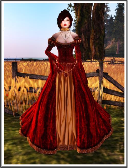 TWA - Elizabeth of Beckett Gown