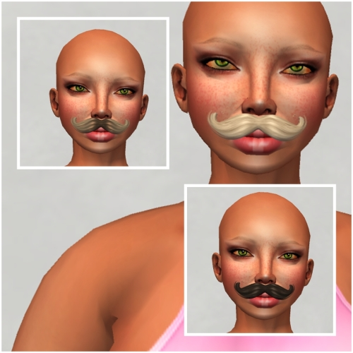 [INK] Mustache for HF14 Gift 16 Items in Box