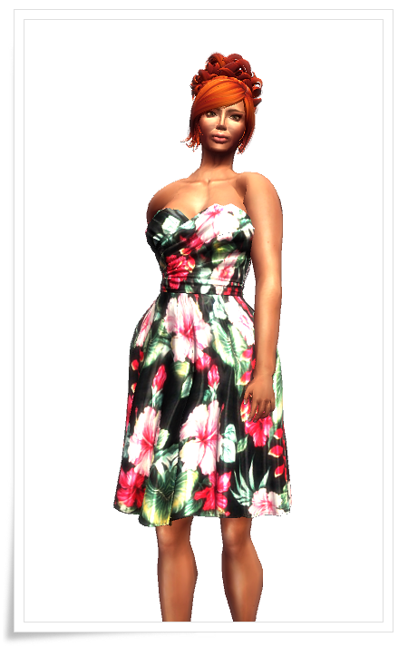 KR - Tafeta Party Dress - Oahu