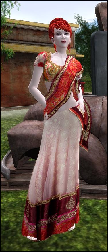ALB PREMA saree dress - Groupgift