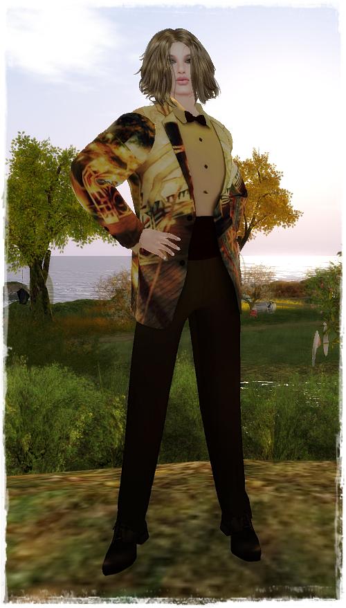 Paris METRO Couture Artist Series Bianca Xavorin Tuxedo FREE