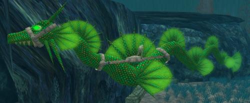 Ridable Sea Serpent 8 Prims