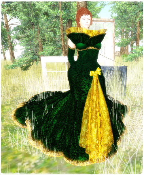 TWA - Radiant Emerald Gown Groupgift 31. August 2014