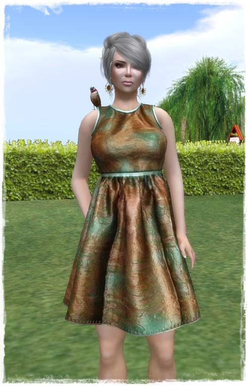 Bilo - JellyBean Dress (MarbleMint)
