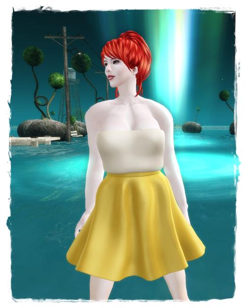 FineRain creations - Popsy Dress Yellow