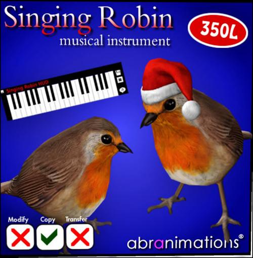 Singing Robin Instrument