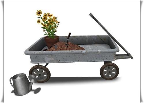 FT- Spring Planting Wagon