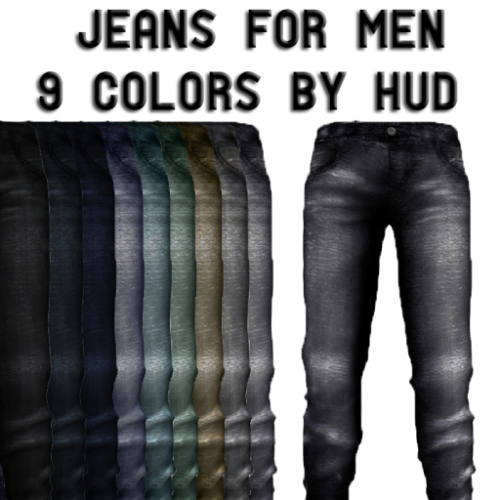 NEW GIFT Jeans for men 9 colors by HUD