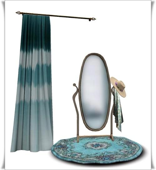 Zinnias- Standing Floor Mirror Set -add me!