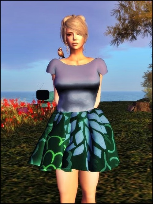Entice - sl fPeggy Sue Dress (Extras)  - HUD CONTROLLED FATPACK