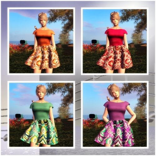 Entice - sl frees & offers GG Juli 2015 Peggy Sue Dress (Extras)  - HUD CONTROLLED FATPACK