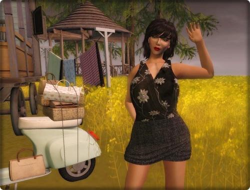 FineRain creations-Gia Dress  Black