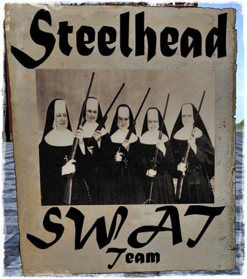 Steelhead Swat Poster