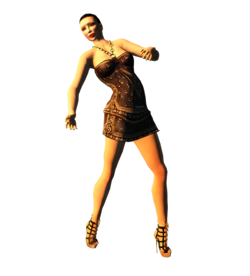 ALB ANGELA dress - shirt mesh + heels to slink TMP belleza