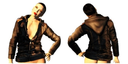 ALB JACOB leather jacket vest FATPACK - mesh - AnaLee Balut