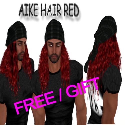 FREE EdelStore man hair _ Aike _ red