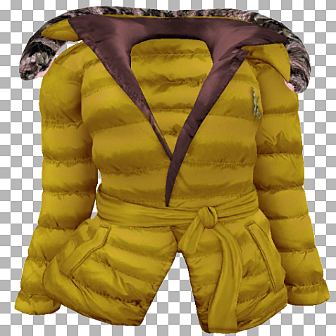 ALB KALINA coat padded yellow by AnaLee
