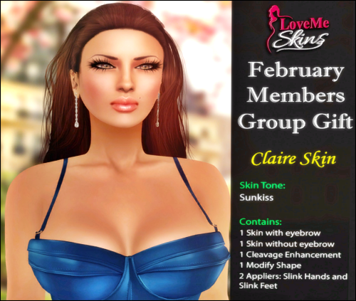 LoveMe Skins - Claire Group Gift - February'16