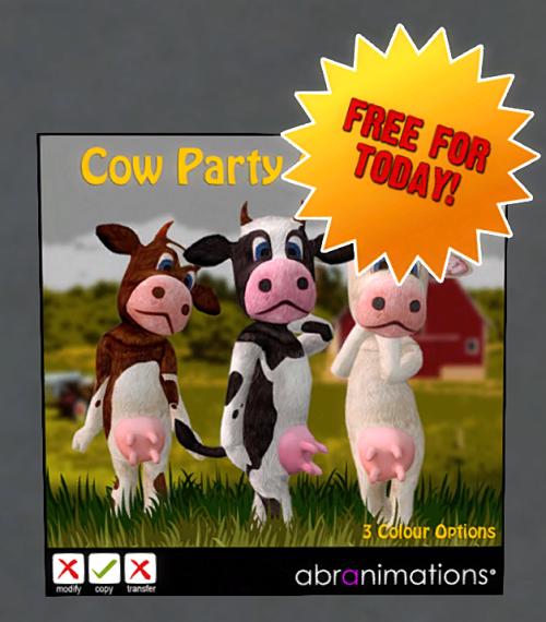 Abranimations - FREE Cow Avatar