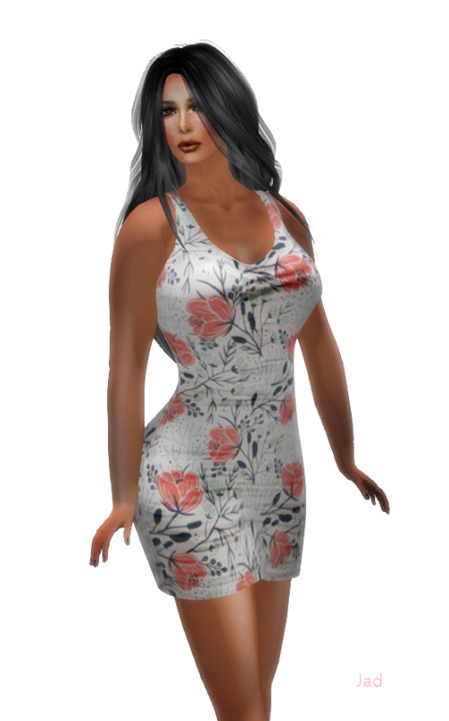 [BLARABY] Mini Skirt Floral Dress GG April 2016