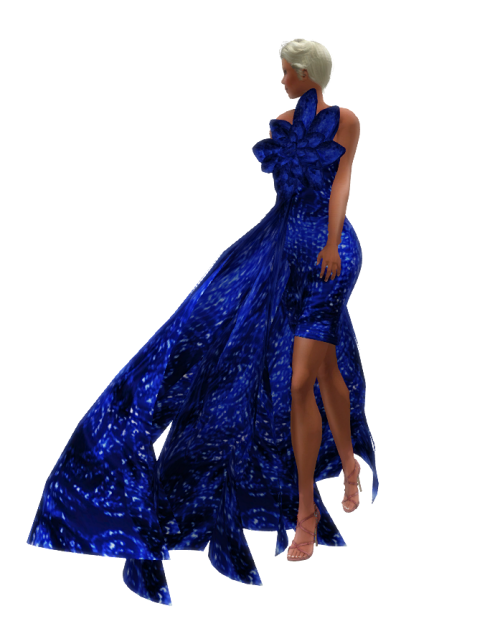 Chic Couture Gown Sky Group Gift April20161