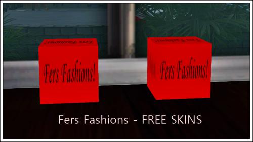 Fers Fashions - FREE SKINS