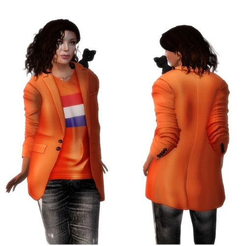 ILLI - Kingsday Blazer freebie for men