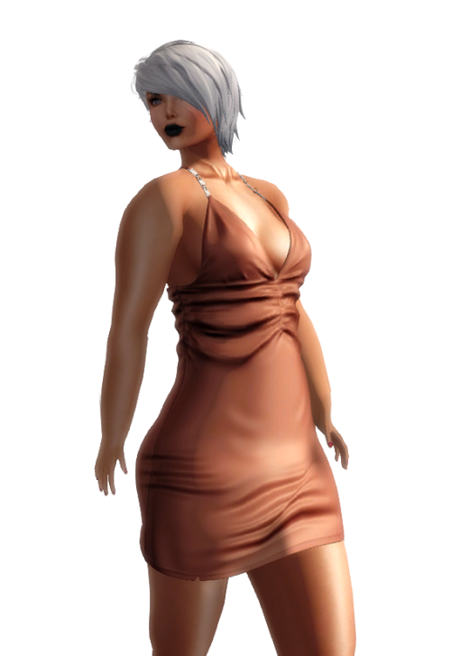 . K E L I N I . Sexy Chic Easter Dress  Orange GG April 2016