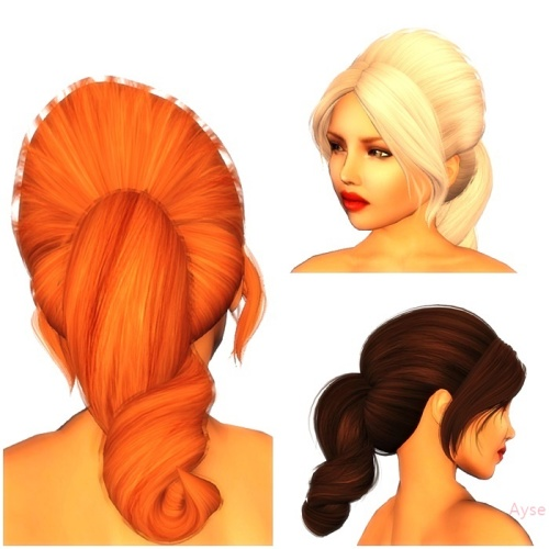 [LeLutka]-LUMEN hair-FATPACK