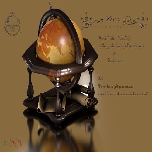 [NC] - World Globe (Hunt Gift)
