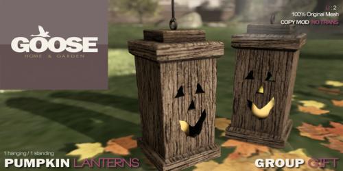 pumpkin lanterns AD