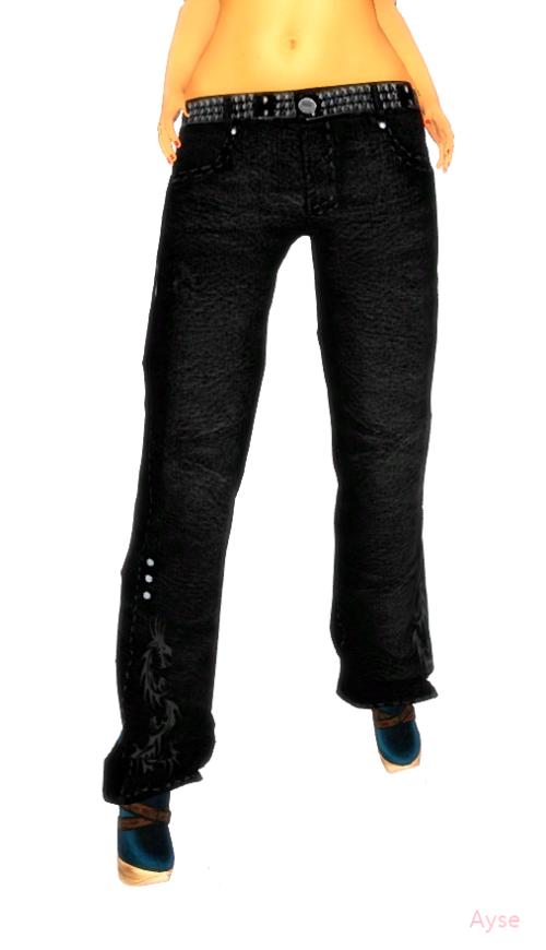 ShOvElHeAdS-Spike 203 Jeans MESH-Men