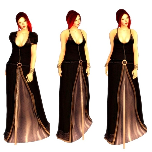TWA - Mists of Arador Fitted Mesh Gown GG 10. April 2016