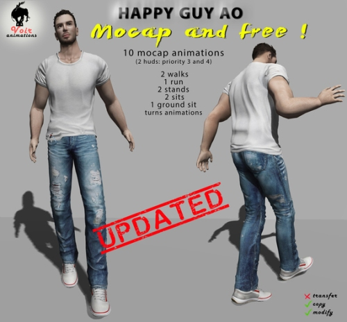 Voir_-_HAPPY_GUY_Animation_Overrider