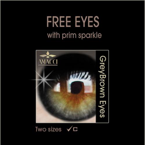 Amacci Grey Brown Eye