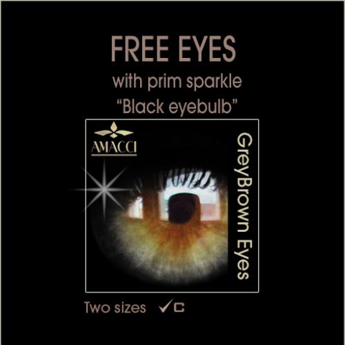 Amacci GreyBrown Eye (Black)