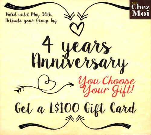 ChezMoi - GG Giftcard 100 Linden