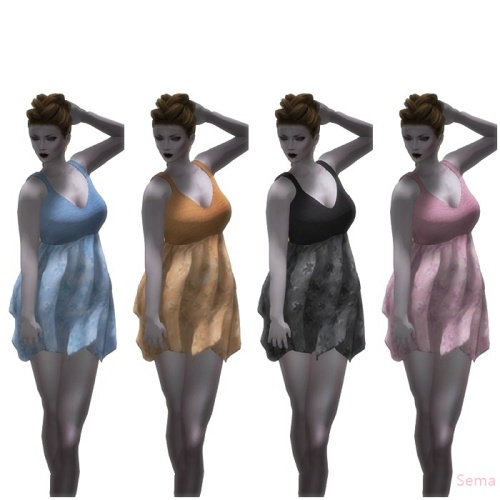 {dollle} 03 Gift -Short Pastel Dress