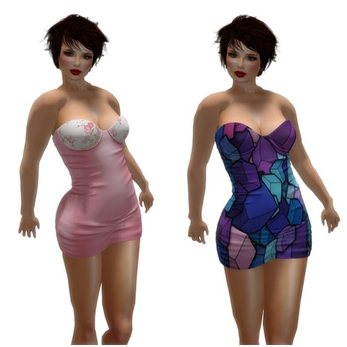 [EASTERLiNG] NEWS Lilou Dress 49 Styles in HUD
