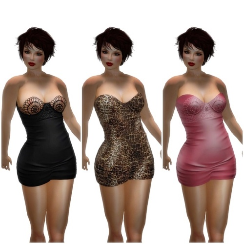 [EASTERLiNG] NEWS Lilou Dress 49 Styles in HUD1