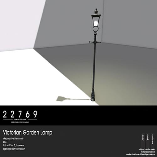 FS-22769 ~ [bauwerk] Victorian Garden Lamp [ad]