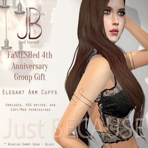 FS-Just BECAUSE Elegant Arm Cuffs - AD