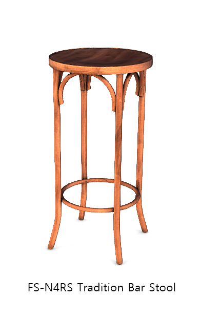 FS-N4RS Tradition Bar Stool