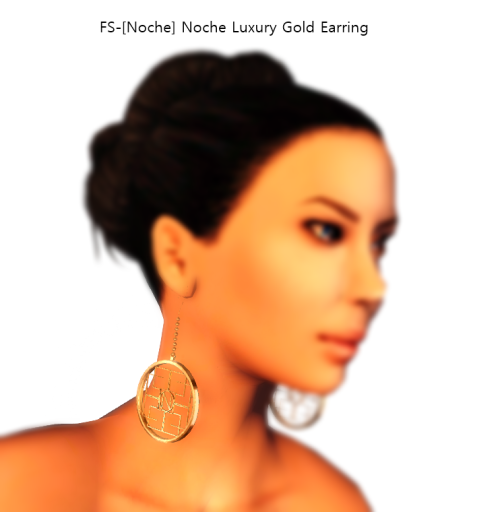 FS-[Noche] Noche Luxury Gold Earring